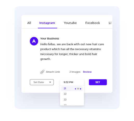 Manage all your social media in  one place